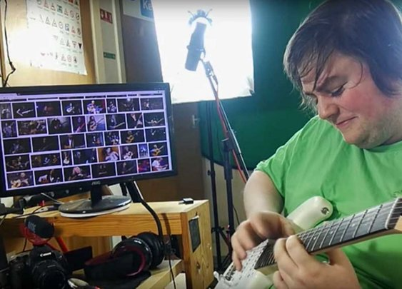Man plays Van Halen's Eruption without actually learning it | Louder