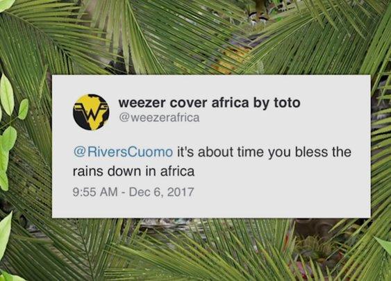 Weezer / Africa Cover