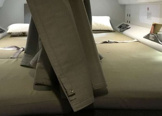 Where Pilots and Flight Attendants Sleep on Long Flights
