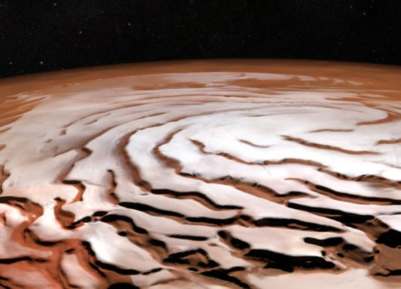 Mars Express has revealed the Red Planet in stunning new ways