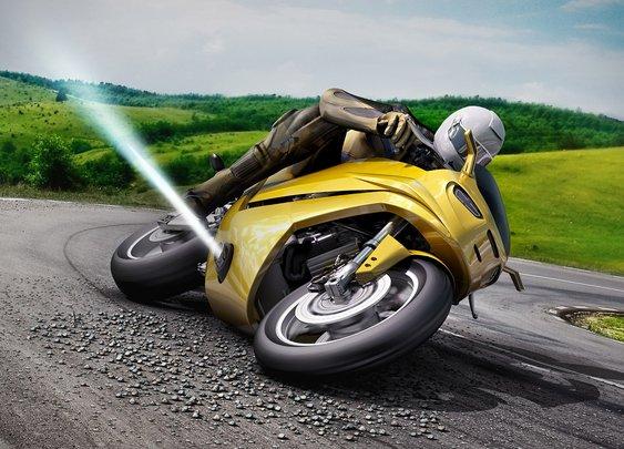 Bosch Anti-Slip Motorcycle Jet Thrusters | Uncrate
