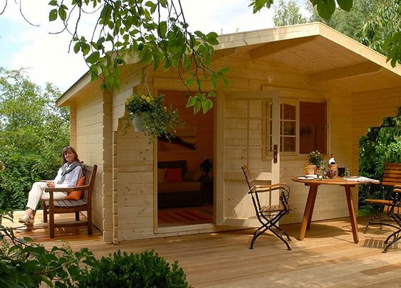 Allwood Eagle Point Cabin Kit | Allwood Cabin Kit | Uber Wants