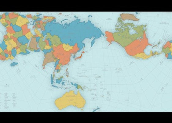 AuthaGraph Map, The World's Most Map, Wins Prestigious Design Award