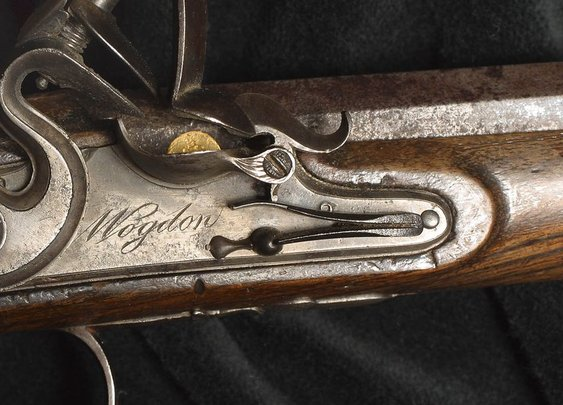 Aaron Burr's Dueling Pistol That Killed Alexander Hamilton