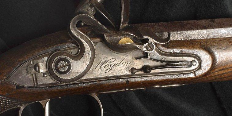 Aaron Burr's Dueling Pistol That Killed Alexander Hamilton