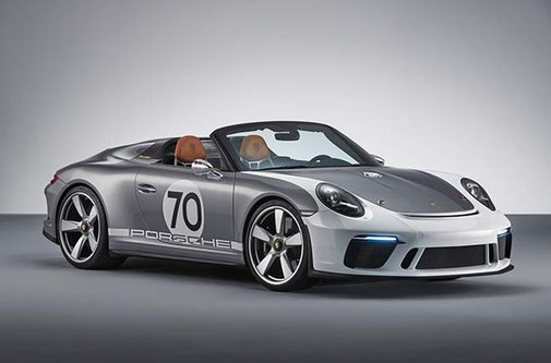 Porsche celebrates 70 years with a new #Speedster concept