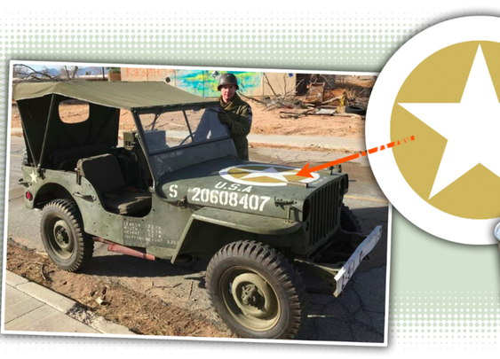 How Special Paint On The Hood Of The World War II Jeep Protected Soldiers' Lives