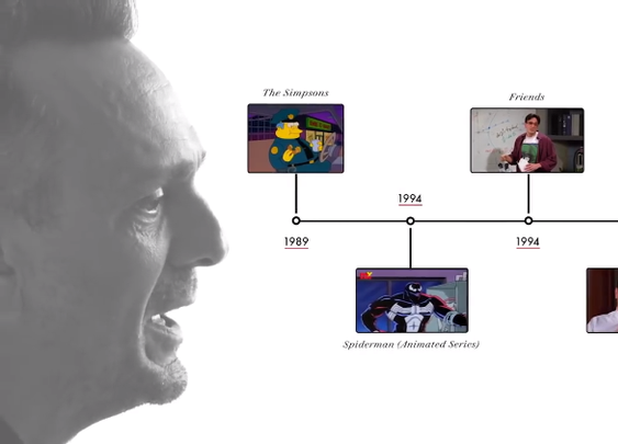The Great Hank Azaria Discusses His Career as an Actor Using a Visual Timeline of the Roles He Played