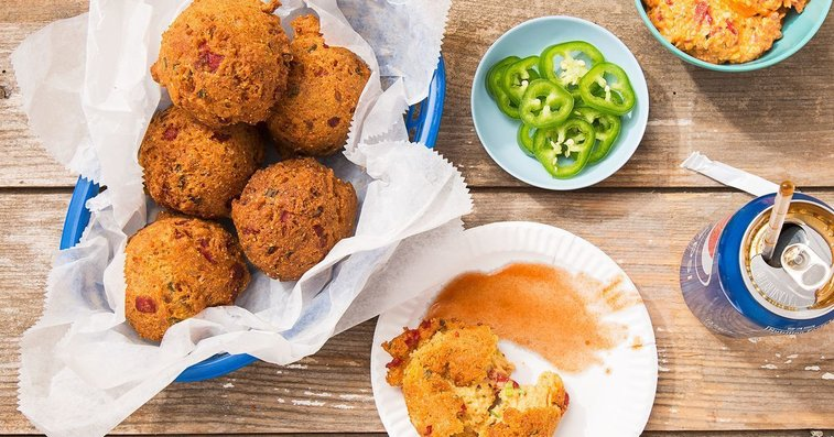 Pimento Cheese Hushpuppies Recipe