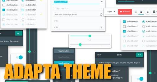 Adapta - Instale um tema GTK Material Design no Ubuntu            -             Diolinux -  O modo Linux e Open Source de ver o Mundo.