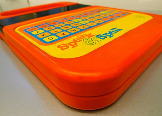 40 years ago, the Speak and Spell was born