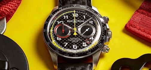 Bell & Ross x Renault Sport Formula One Team Chronograph