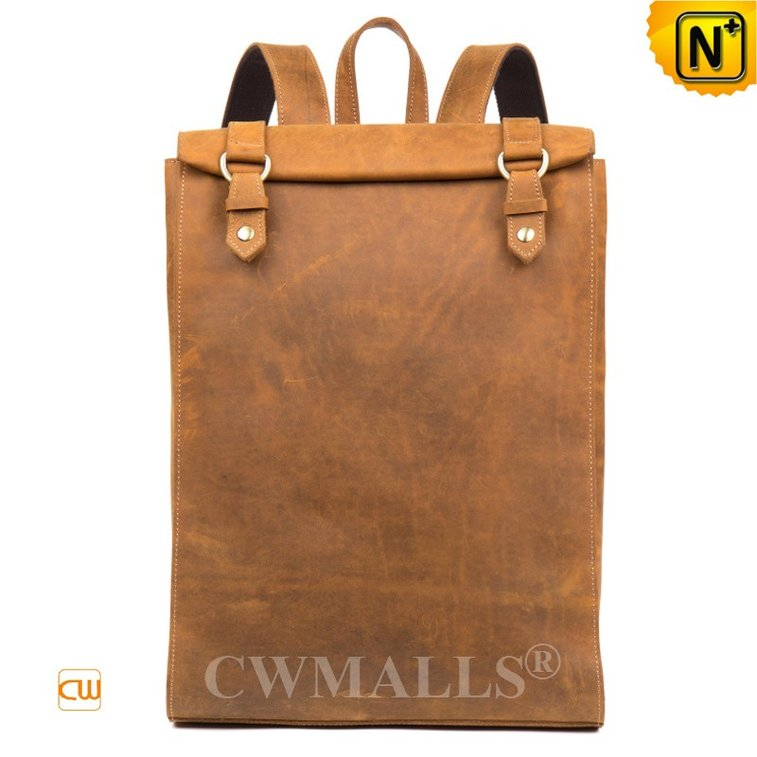 cwmalls handmade leather travel backpack cw908033 2018 travel