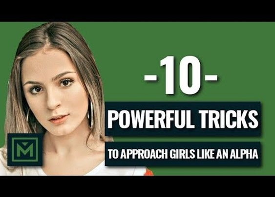 How to Approach a Girl Like an Alpha Male (Easily Do This) - YouTube