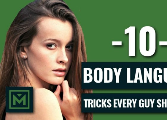 10 Confident Body Language Tricks EVERY Guy Should Do TODAY (Proven Techniques) - YouTube