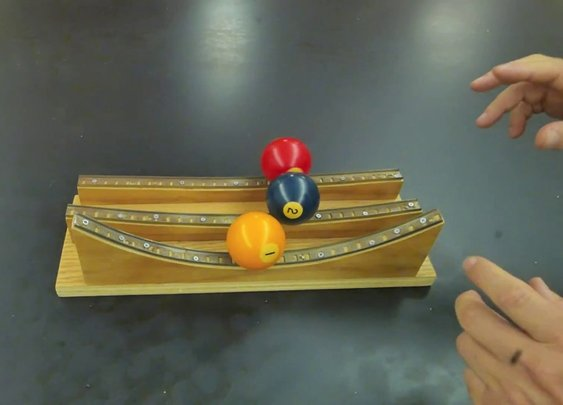 Physics marble track review