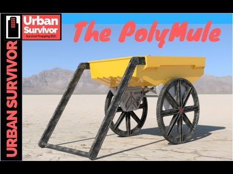 The Ultimate Outdoor Work Tool and Gear Hauler is the PolyMule - YouTube