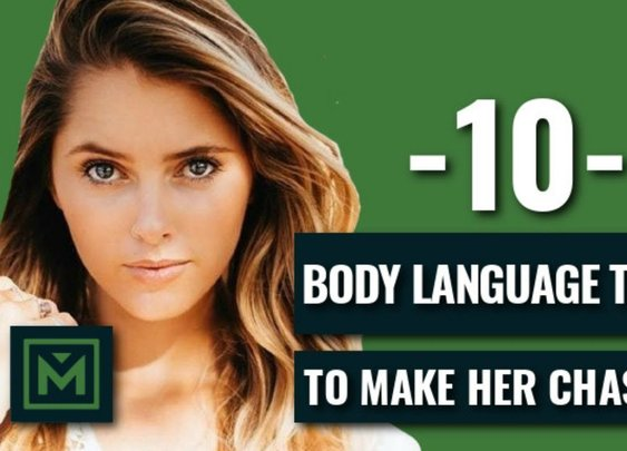 10 Body Language Tricks to Make Her Chase You - How to Attract Girls Without Talking to Them - YouTube