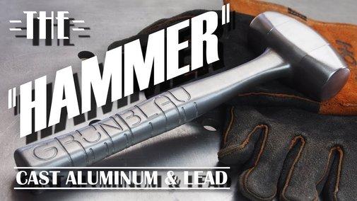 Casting an Aluminum Hammer From a 3-D Rendering