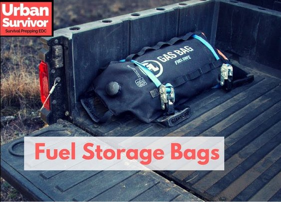 Giant Loop Fuel Safe Storage Bags - Short Term Portable Gas Storage - YouTube