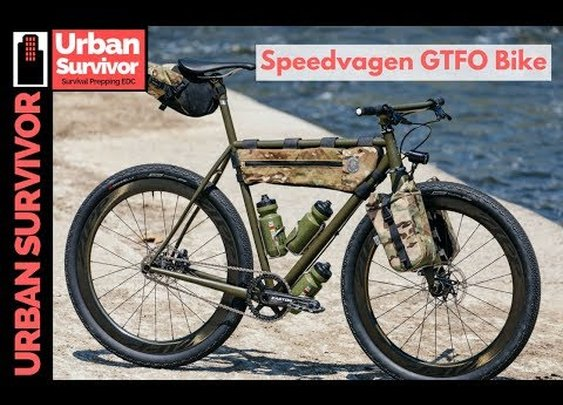 The Ultimate Survival Bike is the Speedvagen GTFO Bike - YouTube
