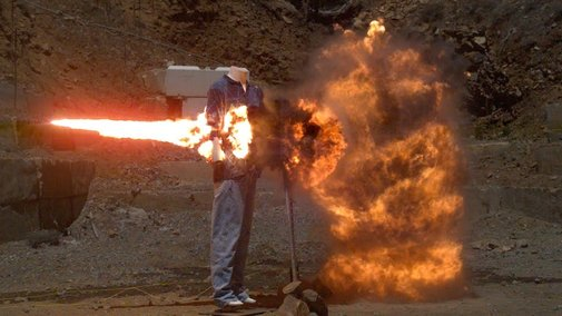 Massive Explosive Chain Reaction at 200,000fps - The Slow Mo Guys - YouTube