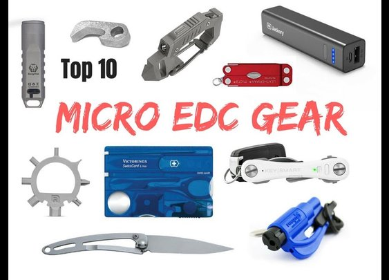 The 10 Best Micro EDC Gear - YouTube