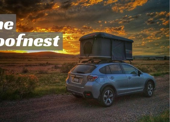 The Ultimate Roof Top Tent is the Roofnest - YouTube