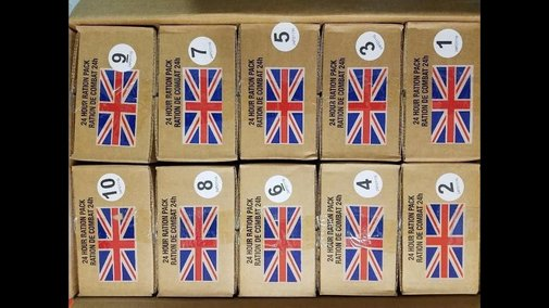 24h British Combat Rations MREs - Ebay Deal! - YouTube
