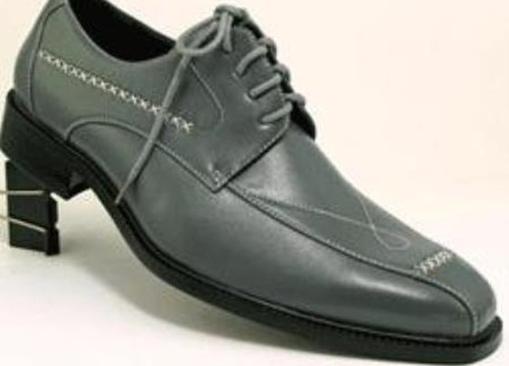 Classic And Admirable Dress Shoes For Men In Gray Color