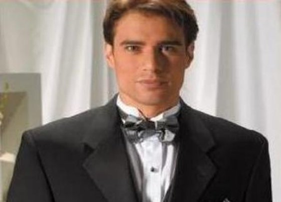 Designer Solid Black Wool Feel Light Weight Soft Poly And Rayon Crafted Tuxedo