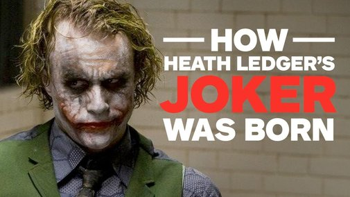 How Heath Ledger's Joker Was Born