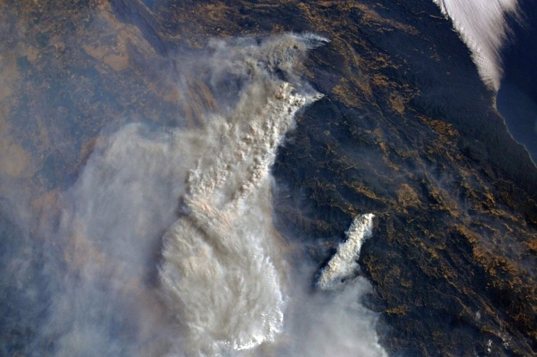 In Photos: The 2018 California Wildfires as Seen from Space crazy