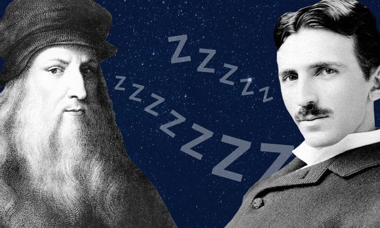 Leonardo da Vinci and Nikola Tesla Allegedly Followed the Uberman Sleep Cycle