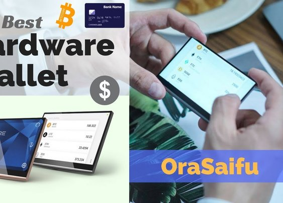 The Best Hardware Wallet for Bitcoin, Cryptos and Credit Cards is the OraSaifu - YouTube