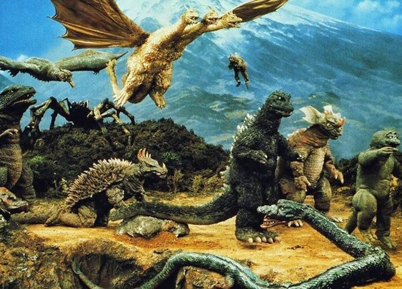 Destroy All Monsters at 50: Looking back on the Infinity War of Godzilla movies | SYFY WIRE