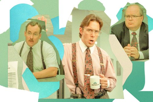 Office Space's bosses evaluated by a management consultant.