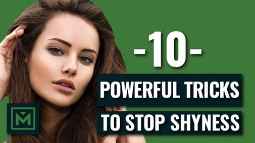 How To Stop Being Shy Around Girls (Proven Tricks) - YouTube