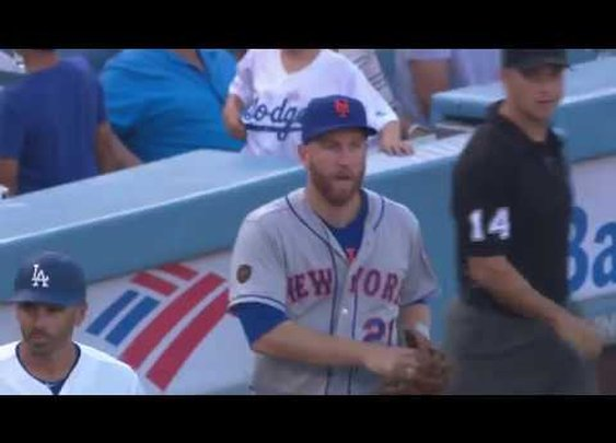 "Watch Todd Frazier Fool an Umpire With This  ""Catch"""