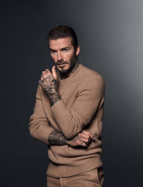 David Beckham Returns as #BornToDare Campaign Ambassador