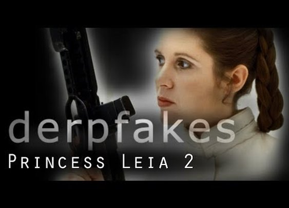 Princess Leia Remastered...Again | Derpfakes - YouTube