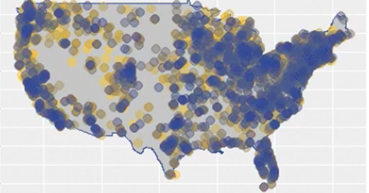 This Mind Blowing Animation Shows 6,600  U.S. Brewery Openings | VinePair