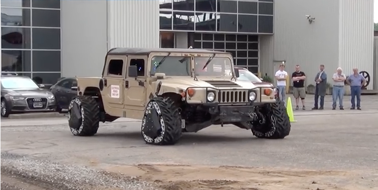 DARPA Invents Wheels That Instantly Morph Into Triangular Tank Tracks