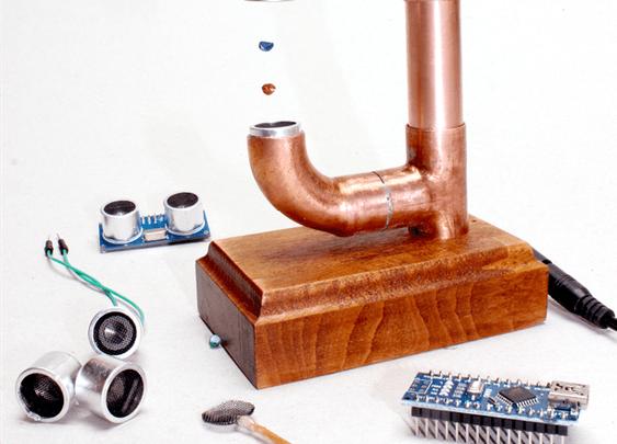 DIY Micro Ultrasonic Levitator