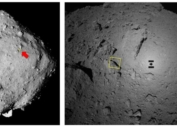 Hayabusa 2 probe snaps a close-up of its asteroid target