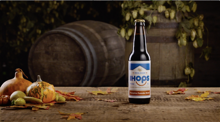 IHOPS, A Limited Edition Pumpkin Pancake Stout