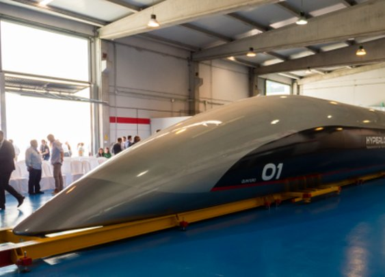 760 mph: New hyperloop passenger pod unveiled, zooom zooom