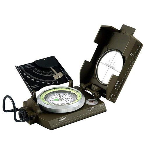 The  MLC2 Professional Military Lensatic Sighting Metal Compass