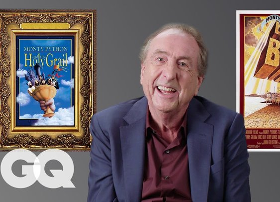 Monty Python's Eric Idle Breaks Down His Most Iconic Characters | GQ - YouTube