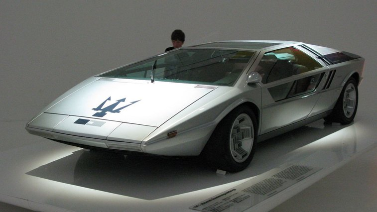 The Maserati Boomerang Might Be the Coolest Looking Concept Car that Was Never Produced
